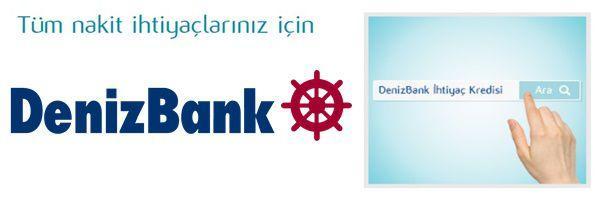 Denizbank Web'te Kredi