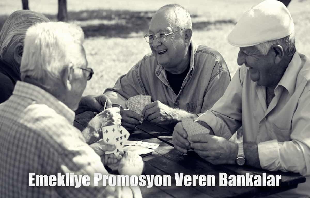 Emekliye promosyon veren bankalar