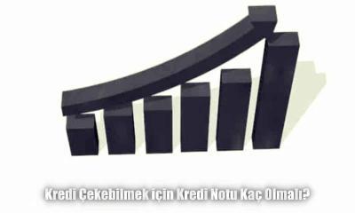 Kredi Çekebilmek için Kredi Notu