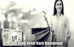 İng Bank Kredi Kartı Başvurusu
