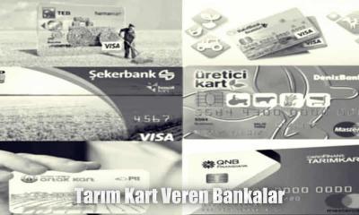 Tarım kart veren bankalar